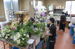 お花を扱うプロ集団